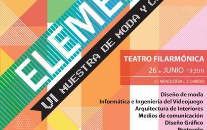 Elements, VI Muestra de Moda y Creación de ESNE Asturias