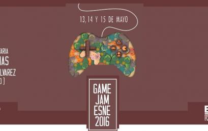 ¡Nueva fecha para la I Game Jam ESNE Asturias!