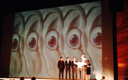 Exalumnos, y actuales profesores de ESNE Asturias, reciben el premio GAVA al mejor Videojuego 2014