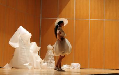 Cristina Amores, ganadora de la beca concedida por SAGA y ESNE Asturias