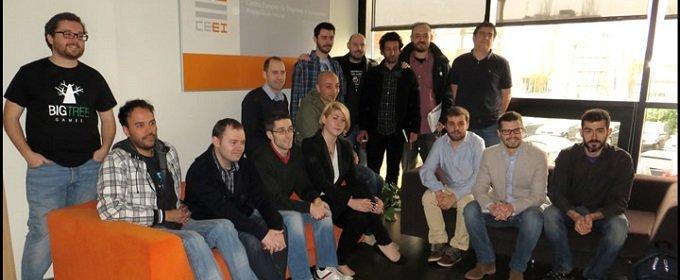 Varias empresas formadas por exalumnos y profesores de ESNE Asturias, presentes en el Gamelab