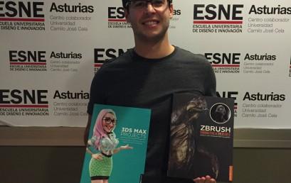 Daniel Campo Martínez, ganador del concurso de modelado 3D de ESNE Asturias