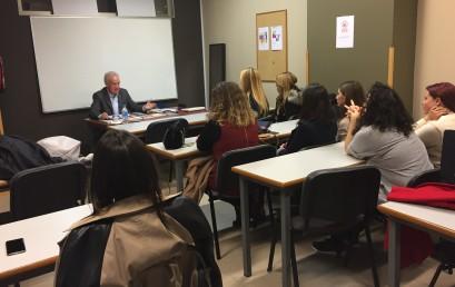 Ramiro Fernández da las claves psicoestéticas en ESNE Asturias