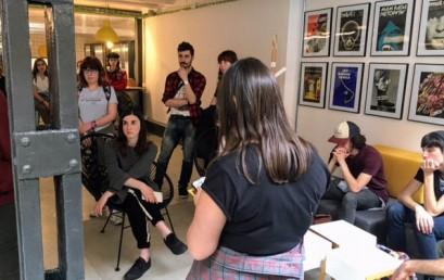 Visita de alumnos de diseño a Barcelona