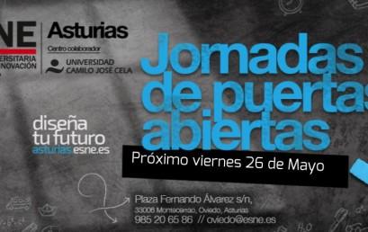 ¡Nueva jornada de puertas abiertas en ESNE Asturias!