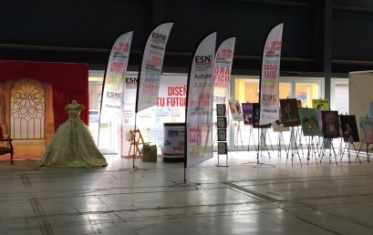 ESNE Asturias presente en la Comic Con de Metropoli