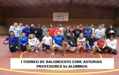 I Torneo de Baloncesto Profesores vs. Alumnos