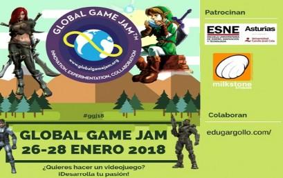 """ESNE Asturias, sede de la """"Global Game Jam 18"""""""