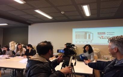 La Televisión Autonómica (TPA) visita ESNE Asturias