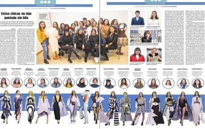 Los alumnos de Diseño de Moda de ESNE Asturias en la Prensa