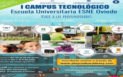 """I Campus Tecnológico Escuela Universitaria ESNE Asturias """"Viaje a las profundidades"""""""