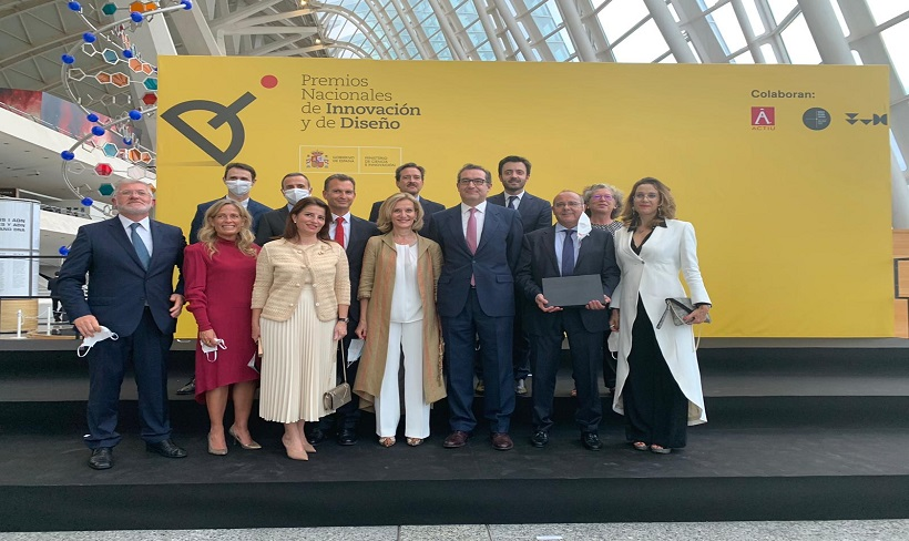 ESNE galardonada en los Premios Nacionales de Innovación y de Diseño 2019