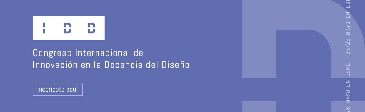 Banner del Congreso Internacional de Innovación en la Docencia de Diseño